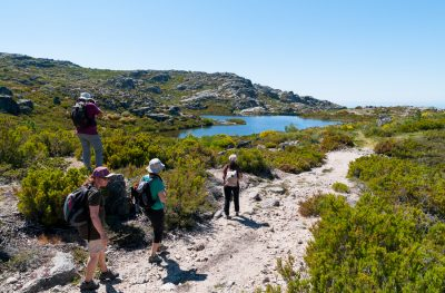 Hiking in Estrela Mountain