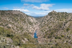 Erges River canyon at Salvaterra do Extremo, Tejo Internacional Nature Park
