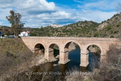 International Roman bridge of Segura, at Tejo Internacional Nature Park